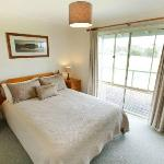 Each cottage has a queen room, twin room and single fold out bed - sleeping up to 5.