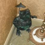 Odd Victorian Frog. Jenny Wade Room