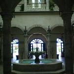 The beautiful colonial style lobby