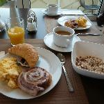 Breakfast was good for 6.50 euros