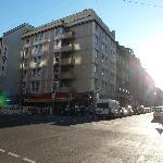 Hotel Schweiz from the street