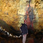 Inside the Volcano the colors are magnificent