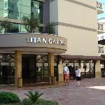 Hoteleingang zur Lobby