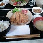 Menu midi Tonkatsu (porc pané)