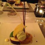 desert at dinner