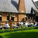 Beer Garden at The Schoolhouse Hotel