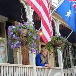 Under the flag of Australia!