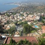 View of Taormina from Room 12