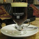 A delicious cup of Irish Coffee!