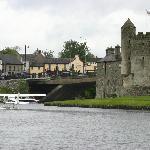 Enniskillen castle with a sea plane landing (only 30 minutes drive away)