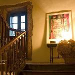 Escaleras de acceso a habitacuones