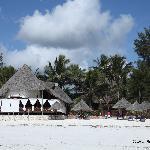 Villa Dida dalla spiaggia