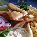 Flounder platter