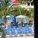 Royal Islander Club La Plage-pool view from balcony-zoomed