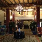 The lobby looks a little like the Titanic