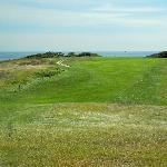 Highland Links looking toward the green closest to the ocean. Nearest drop is Portugal.