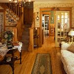 View of main living room and dining rooms