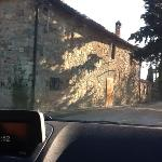 The drive to Fagiolari