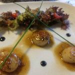 St-Jacques sauce sashimi un délice !