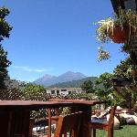 Our volcanoes view...