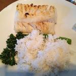 Chatham cod, jasmine rice & broccolini