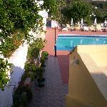 treppe zum pool