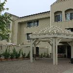 Napa Winery Inn Entrance