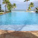 quiet South pool.