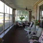 The wrap around porch gives you awesome views of the great Mississippi river