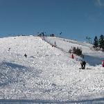 piste de ski à 30 m