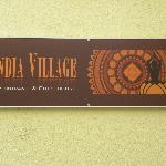 India Village Sign
