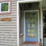 Front door to The Studio