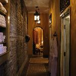 Our intimate on-site spa for guests
