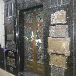 We were surprised at how many people didn't know where the Evita Peron tomb was in Recoleta Ceme