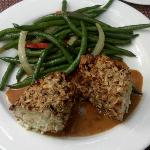 Stuffed hazelnut Chicken ~ My Favorite ~