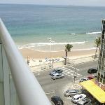 Vista do sexto andar do Hotel Monte Pascoal - Salvador/BA