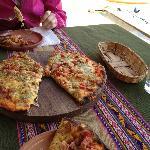 The 'Pachamama' pizza