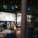 Interior Joes crab shack