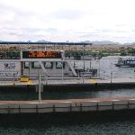 water taxi and Don Laughlin's tour boat
