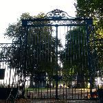 Les grilles du Château