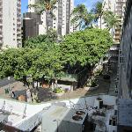 Kuhio side court yard view