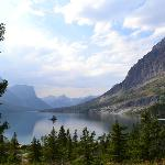 Wild Goose Island view in Glacier National Park