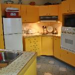 The easy to use kitchen, very clean!