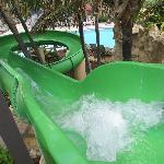 Water Slide at the Pool