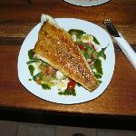 Fish dish prepared by Ralph