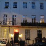 Outside shot of the Lynton Hotel