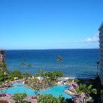 View from lanai of 2 bedroom unit