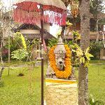 Resident Ganesha deity, Kertiyasa