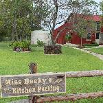 Miss Becky's Kitchen View from Front