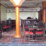 Dining Area facing the beach